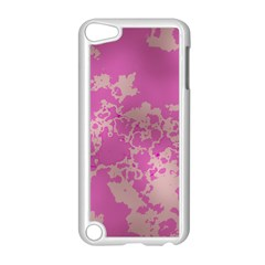 Unique Marbled Pink Apple Ipod Touch 5 Case (white) by MoreColorsinLife