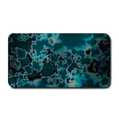 Unique Marbled Teal Medium Bar Mats by MoreColorsinLife