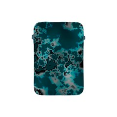 Unique Marbled Teal Apple Ipad Mini Protective Soft Cases by MoreColorsinLife