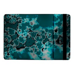 Unique Marbled Teal Samsung Galaxy Tab Pro 10 1  Flip Case by MoreColorsinLife