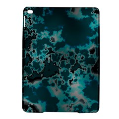 Unique Marbled Teal Ipad Air 2 Hardshell Cases by MoreColorsinLife