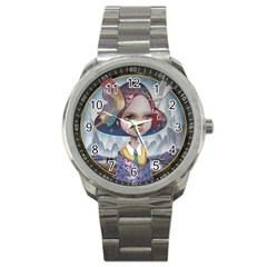 World Peace Sport Metal Watches by YOSUKE