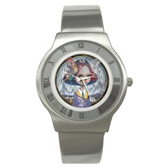 World Peace Stainless Steel Watches by YOSUKE