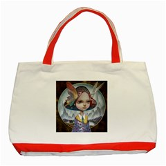 World Peace Classic Tote Bag (red)  by YOSUKE