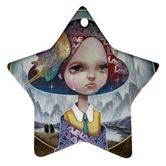 World Peace Star Ornament (two Sides)  by YOSUKE