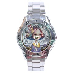 World Peace Stainless Steel Men s Watch by YOSUKE