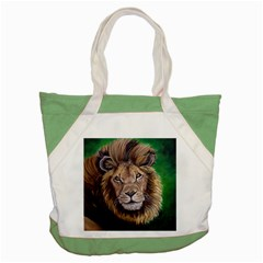 Lion Accent Tote Bag  by ArtByThree