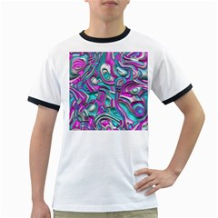 Art Deco Candy Ringer T Shirts