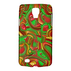 Art Deco Red Green Galaxy S4 Active by MoreColorsinLife