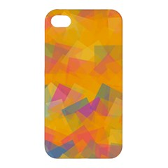 Fading Squares Apple Iphone 4/4s Hardshell Case by LalyLauraFLM