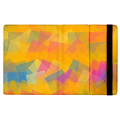 Fading Squares Apple Ipad 3/4 Flip Case