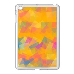 Fading Squares Apple Ipad Mini Case (white) by LalyLauraFLM