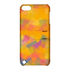 Fading Squares Apple Ipod Touch 5 Hardshell Case With Stand by LalyLauraFLM