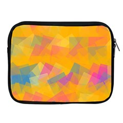 Fading Squares Apple Ipad 2/3/4 Zipper Case by LalyLauraFLM