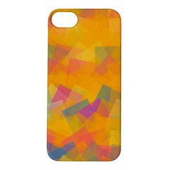 Fading Squares Apple Iphone 5s Hardshell Case by LalyLauraFLM