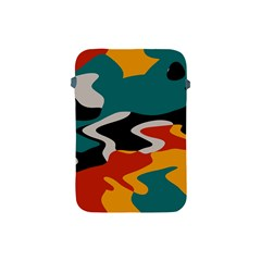Misc Shapes In Retro Colors Apple Ipad Mini Protective Soft Case by LalyLauraFLM