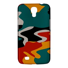 Misc Shapes In Retro Colors Samsung Galaxy Mega 6 3  I9200 Hardshell Case by LalyLauraFLM