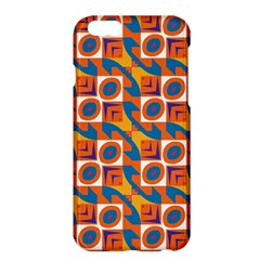Squares And Other Shapes Pattern	apple Iphone 6 Plus Hardshell Case by LalyLauraFLM