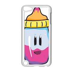 Purp Baby Bottle Apple Ipod Touch 5 Case (white)