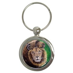 Lion Key Chains (round)  by ArtByThree