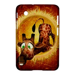 I m Waiting For You, Cute Giraffe Samsung Galaxy Tab 2 (7 ) P3100 Hardshell Case