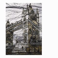 Metal Art London Tower Bridge Small Garden Flag (two Sides) by MoreColorsinLife