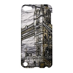 Metal Art London Tower Bridge Apple Ipod Touch 5 Hardshell Case by MoreColorsinLife