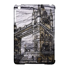 Metal Art London Tower Bridge Apple Ipad Mini Hardshell Case (compatible With Smart Cover) by MoreColorsinLife