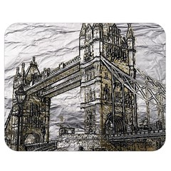 Metal Art London Tower Bridge Double Sided Flano Blanket (medium)  by MoreColorsinLife