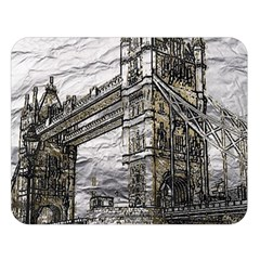 Metal Art London Tower Bridge Double Sided Flano Blanket (large)