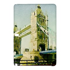 Watercolors, London Tower Bridge Samsung Galaxy Tab Pro 10 1 Hardshell Case