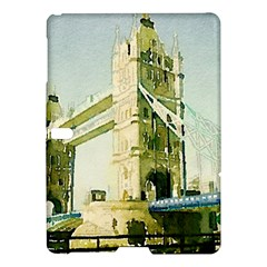 Watercolors, London Tower Bridge Samsung Galaxy Tab S (10 5 ) Hardshell Case