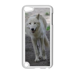 White Wolf Apple Ipod Touch 5 Case (white) by MoreColorsinLife