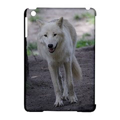 White Wolf Apple Ipad Mini Hardshell Case (compatible With Smart Cover) by MoreColorsinLife