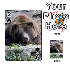 Tired Bear Playing Cards 54 Designs  by MoreColorsinLife