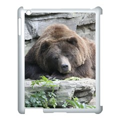 Tired Bear Apple Ipad 3/4 Case (white) by MoreColorsinLife