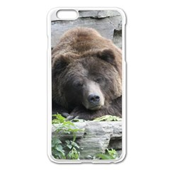 Tired Bear Apple Iphone 6 Plus/6s Plus Enamel White Case by MoreColorsinLife