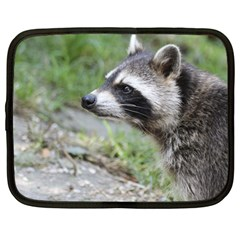 Racoon 1115 Netbook Case (large)	 by MoreColorsinLife