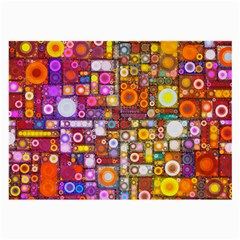 Circles City Large Glasses Cloth (2-side) by KirstenStar