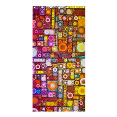 Circles City Shower Curtain 36  X 72  (stall)  by KirstenStar