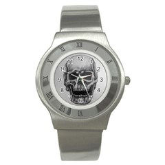 Skull Stainless Steel Watches by ArtByThree