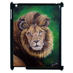 Lion Apple Ipad 2 Case (black)