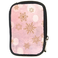 Winter Bokeh Pink Compact Camera Cases by MoreColorsinLife