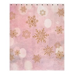 Winter Bokeh Pink Shower Curtain 60  X 72  (medium)