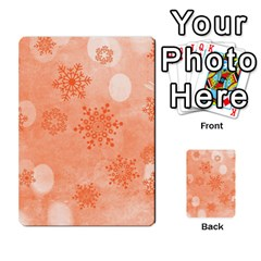 Winter Bokeh Red Multi-purpose Cards (rectangle)