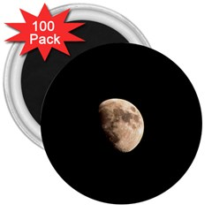 Half Moon 3  Magnets (100 Pack) by timelessartoncanvas