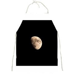 Half Moon Full Print Aprons by timelessartoncanvas