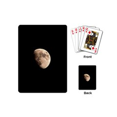 Half Moon Playing Cards (mini)  by timelessartoncanvas