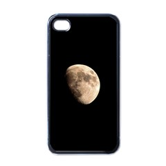Half Moon Apple Iphone 4 Case (black) by timelessartoncanvas