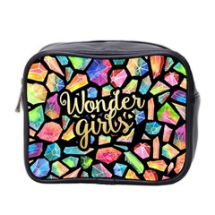 Wondergirls Mini Travel Toiletry Bag (two Sides) by walala